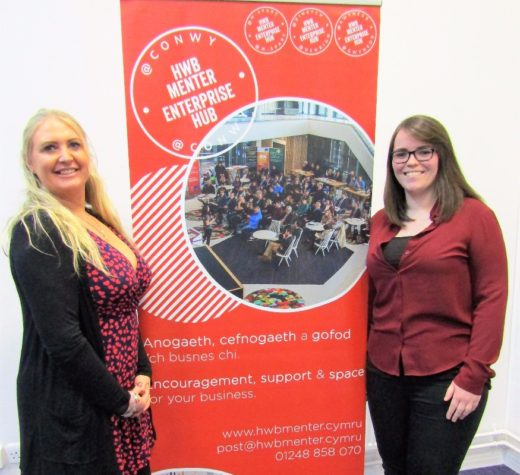 Miwtini will be helping Conwy businesses 'make it happen'